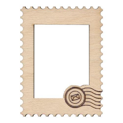 Деревянная фоторамка