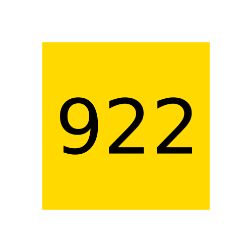 Marabu краска Ultragraph UVAR 922 светло-жёлтая