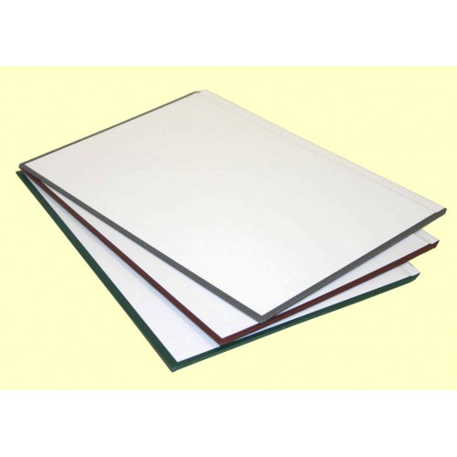 Обложки МеталБинд картон А4 (304х212 мм) серые O.hard Cover Gray (10пар)