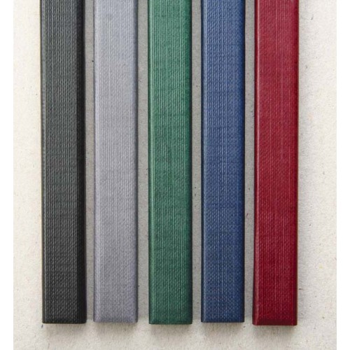 Корешки МеталБинд с покрытием 10 мм (до 90 листов) А4 304 серые (O.CHANNEL )/10 шт