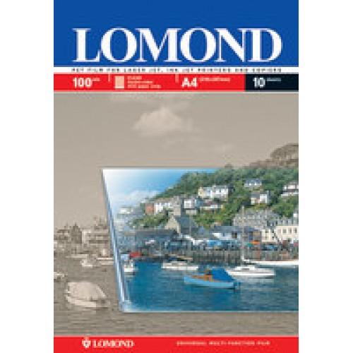 Пленка Lomond  мультиуниверсальная для лазерной печати А4, 10л.
