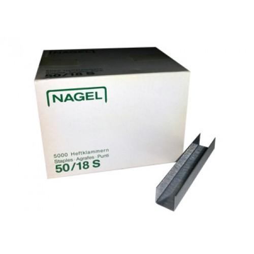 Скрепки Nagel  50/18S (5000 шт)
