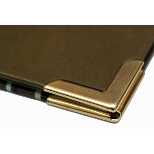 Уголки металлические, Золото, простые_15
