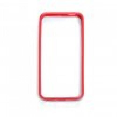 Чехол для iPhone 5 Frame, резиновый красный