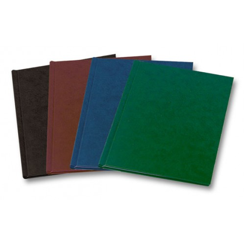 Обложки C-BIND Твердые А4 Classic AA (5 мм) зеленые (15-40 листов) Упаковка 10 шт.