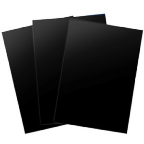 """Обложка """"глянец"""", без окна (черный), А4, 250 гр (100шт)"""