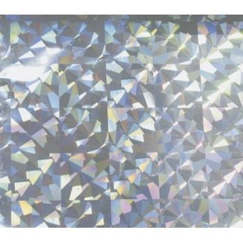 Фольга ( В04 сереб. призмы) 0,2х120м, голограмма